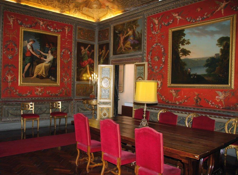 Pompeian Salon, Palazzo Altieri