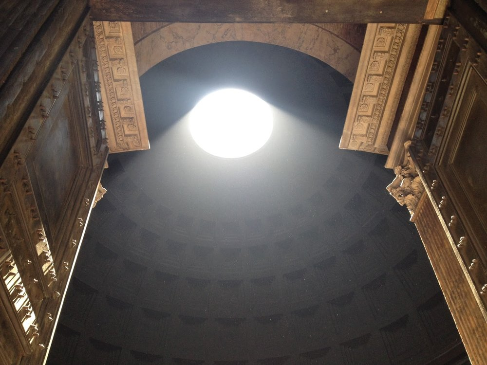 Pantheon on Rome's birthday. Photo by Tiffany Parks