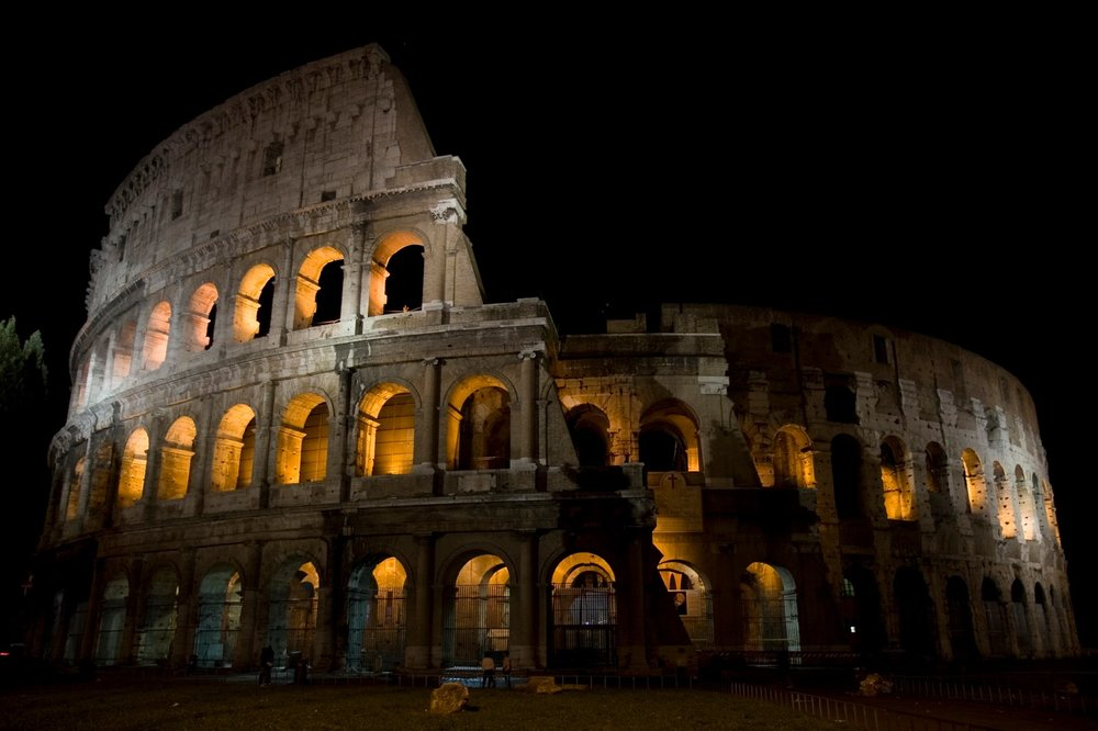 The Colosseum by night, © Alessandro Silipo