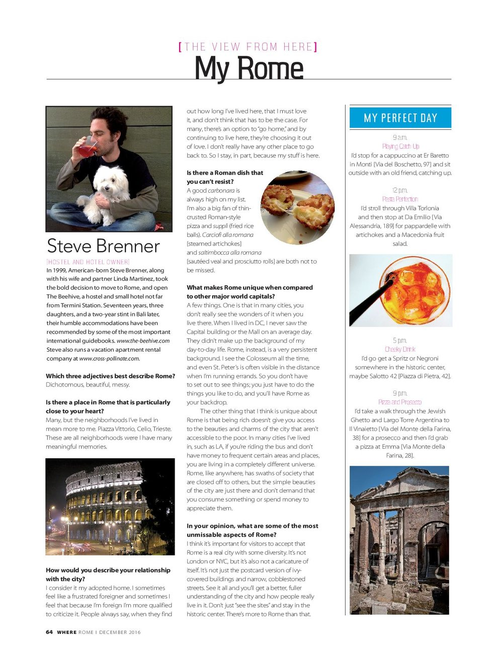 My Rome, Steve Brenner, Where Rome, December 2016-page-001.jpg