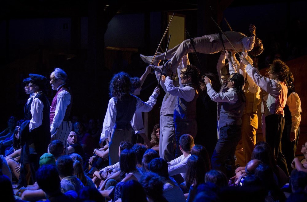 Shakespeare's  The Merchant of Venice , Silvano Toti Globe Theatre, Rome
