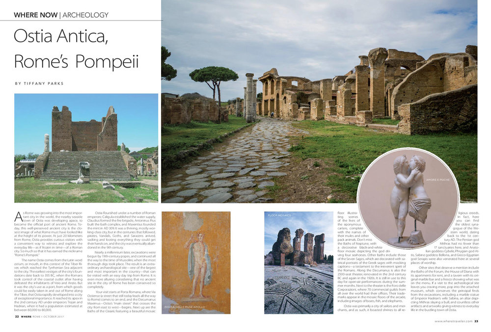 Where Rome, Ostia Antica, Rome's Pompeii, October 2017.jpg
