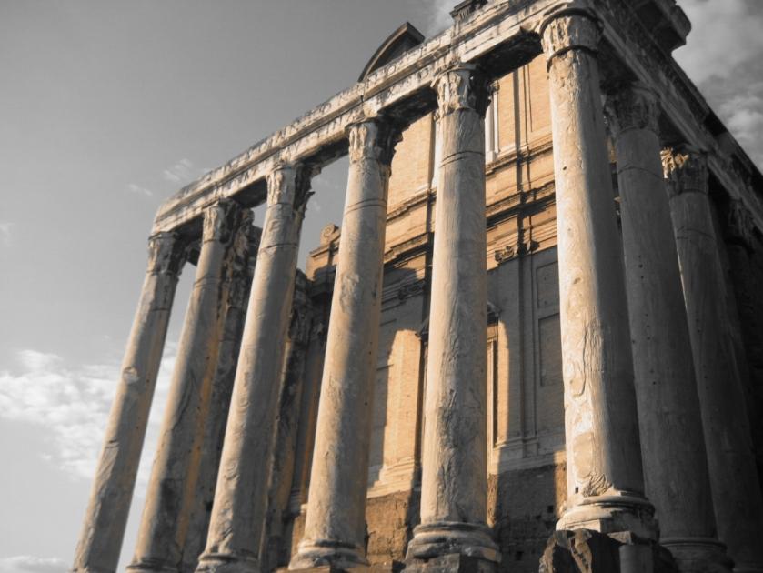 Temple of Antoninus and Faustina, transformed into the Church of San Lorenzo in Mirandola