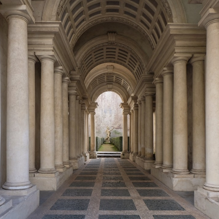 Borromini's Perspective – Galleria Spada [ Source ]