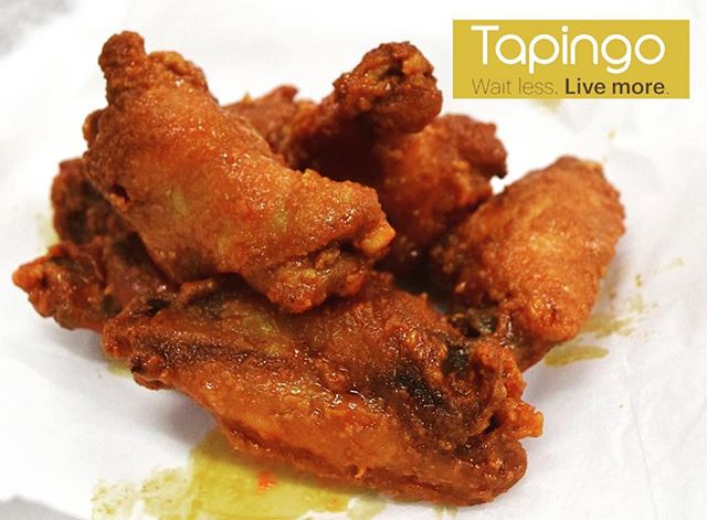 Our wings are now live on @Tapingo!!! Get $5 OFF your first order with us! #phillyeats #templefood #bestwings PC: @echizen321