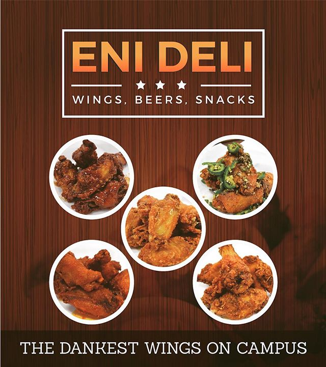 There's finally a real wing joint on campus. Hit us up Temple students! @templeuniv