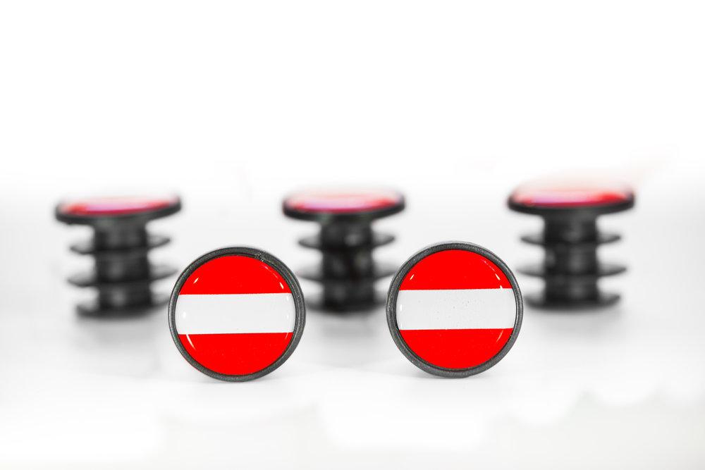 Österreich Plug - Der klassische Österreich Plug für alle HeimatverbundenenStandard - Plug Paar € 9,99