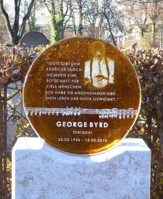 Tomb of Conductor George Byrd