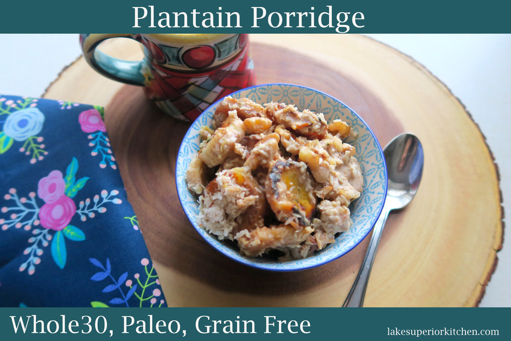 whole30, whole30 breakfast, paleo, paleo breakfast, grain free, plantain recipes, whole30 recipes