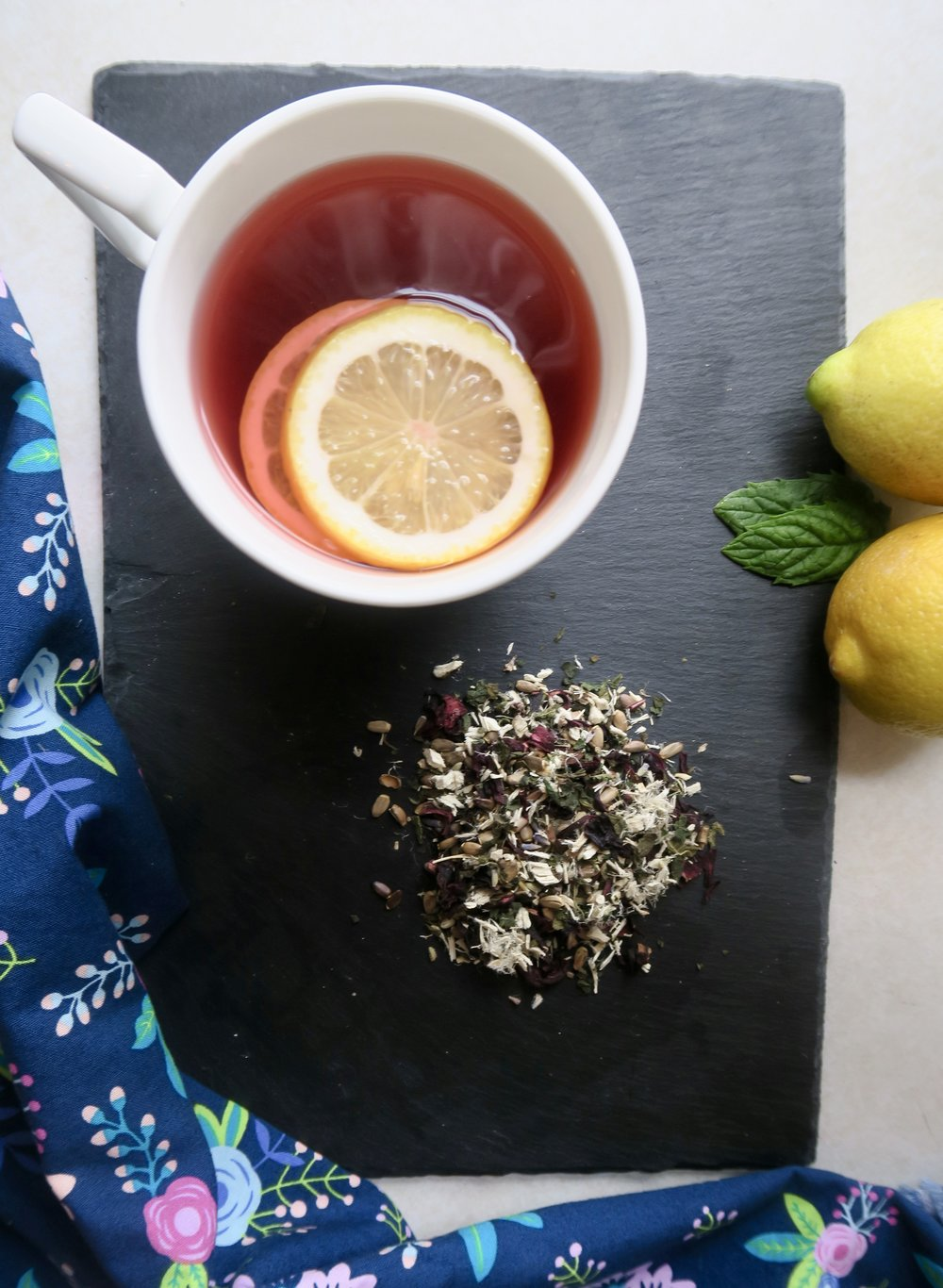 Lake Superior kitchen, Duluth food, detox tea