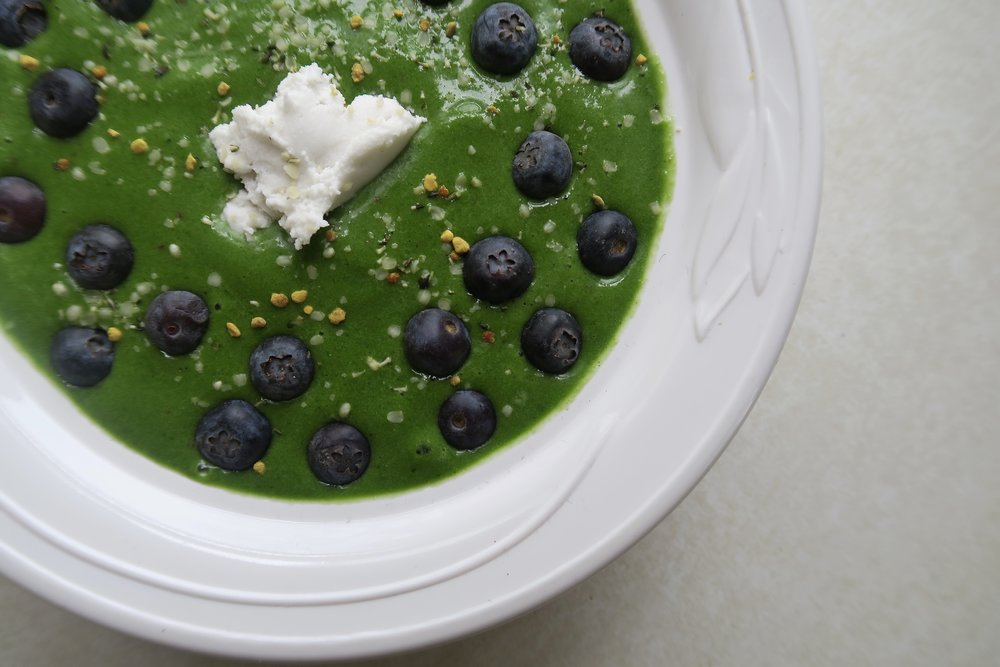 Lake Superior kitchen, Duluth food, green smoothie, healthy breakfast
