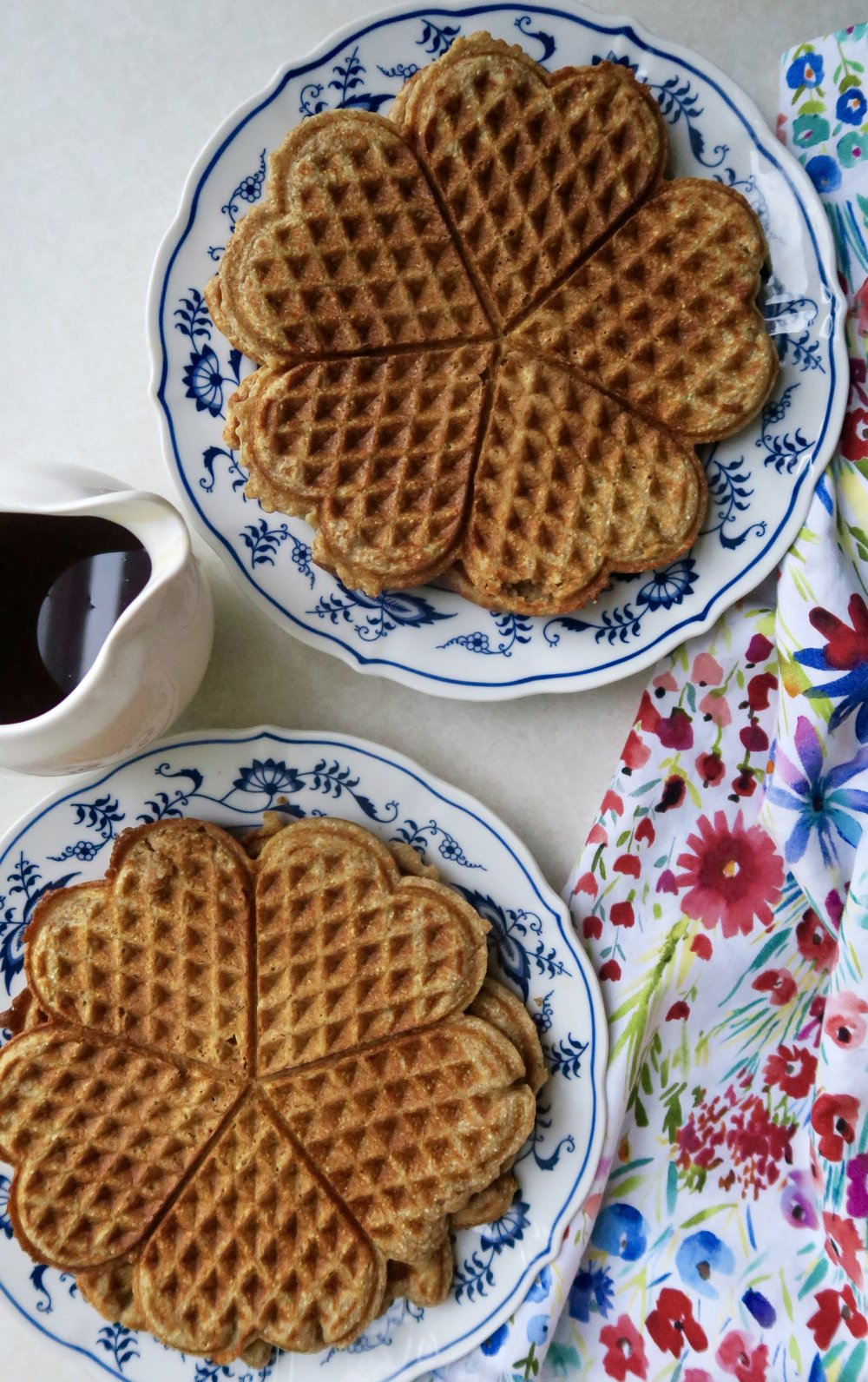 Whole Wheat Waffles, Lake Superior Kitchen, healthy breakfast, healthy waffle recipe