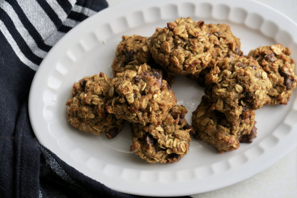 Oatmeal Banana Chocolate Chip Cookies, Lake Superior Kitchen