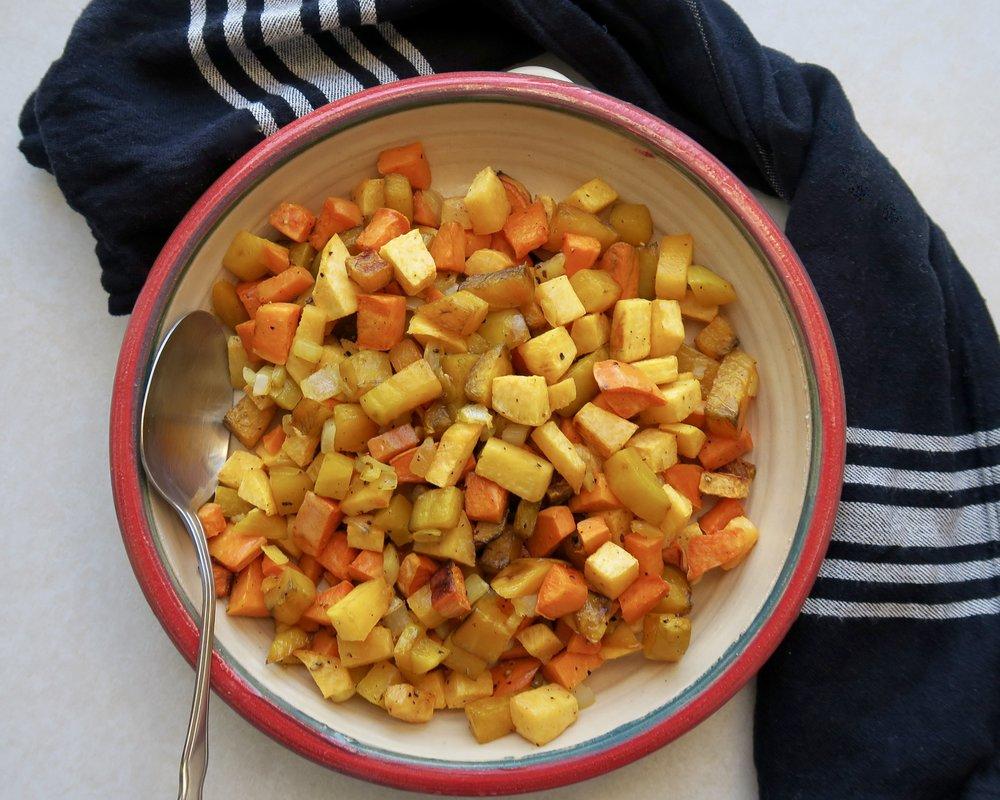 Roasted Veggies, Lake Superior Kitchen, Paleo, Whole30, Grain Free