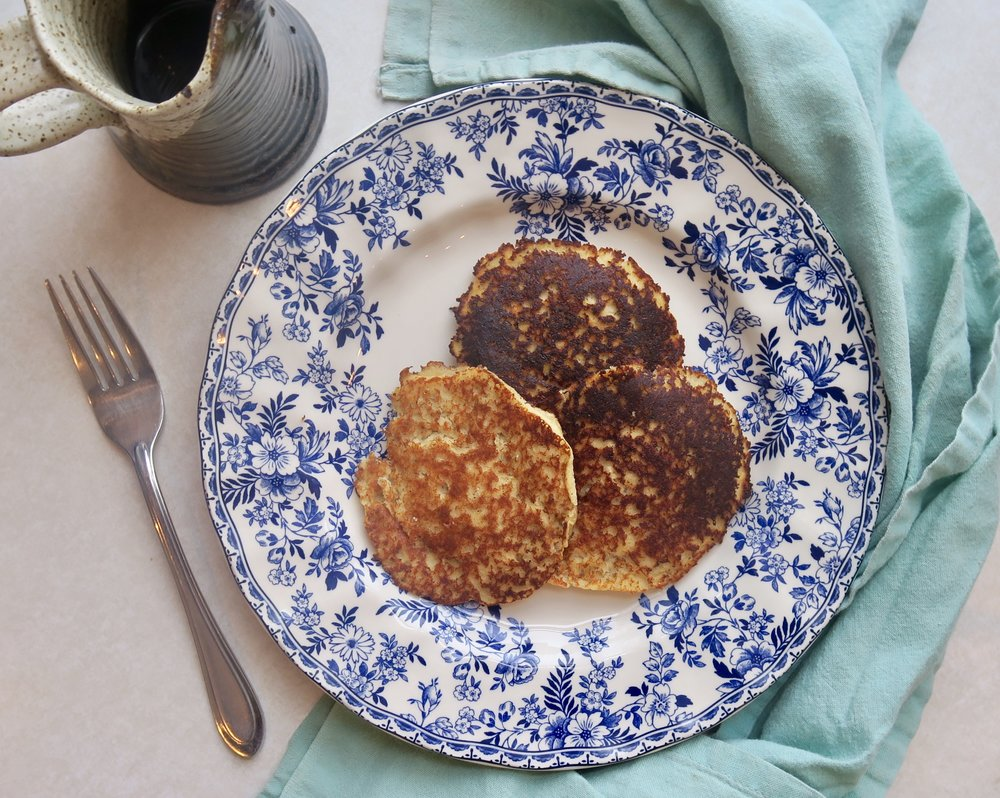 Grapefruit Cardamom Pancakes, Lake Superior Kitchen, Grain Free, Paleo