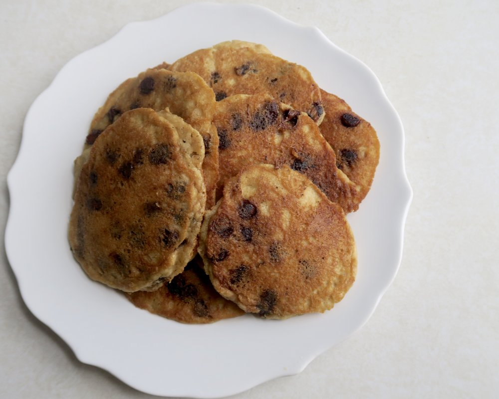 Lake Superior Kitchen, Paleo Chocolate Chip Pancakes