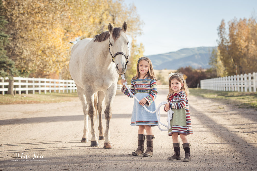 After seeing Kristin's work at the Colorado Horse Park, I knew the the moment I bought a horse, she was the one I was calling to capture the moment that I told my little girls one of their dreams, along with mine, had come true. And capture it she did; again and again in ways I hadn't thought of or imagined. From start to finish the entire process was one of ease and fun. Not ever having had formal family photos before (let alone with a horse), I was a little wary that my kids would either be bored or would have a hard time relating to the photographer. Not in the least!  My girls totally gravitated toward her. She had funny comments, games and interactive shots that made them each feel special.  And most importantly, the images and moments she captured are nothing short of magical. From the lighting to the detail, I can't say enough positive things about the entire experience and finished product. My only complaint would be that I don't have enough wall space to hang them all - there are  that  many incredible choices. Kristin has a true gift and an eye for detail that leaves you lingering over each and every shot, maybe even with a tear of joy in your eye as you realize that such a special point in time was captured forever.  My family and I can't wait to work with her again.