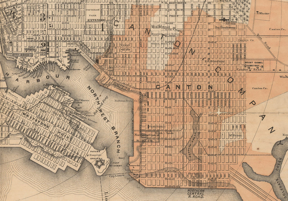 F. Klemm map of Baltimore From the Johns Hopkins digital archives