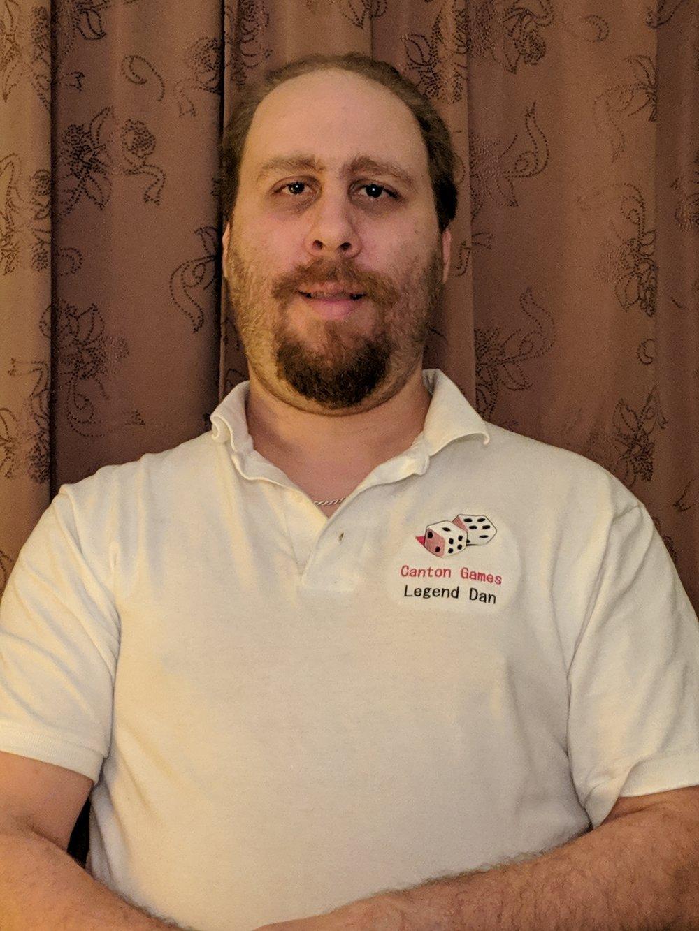 Dan Hoffman, owner of Canton Games