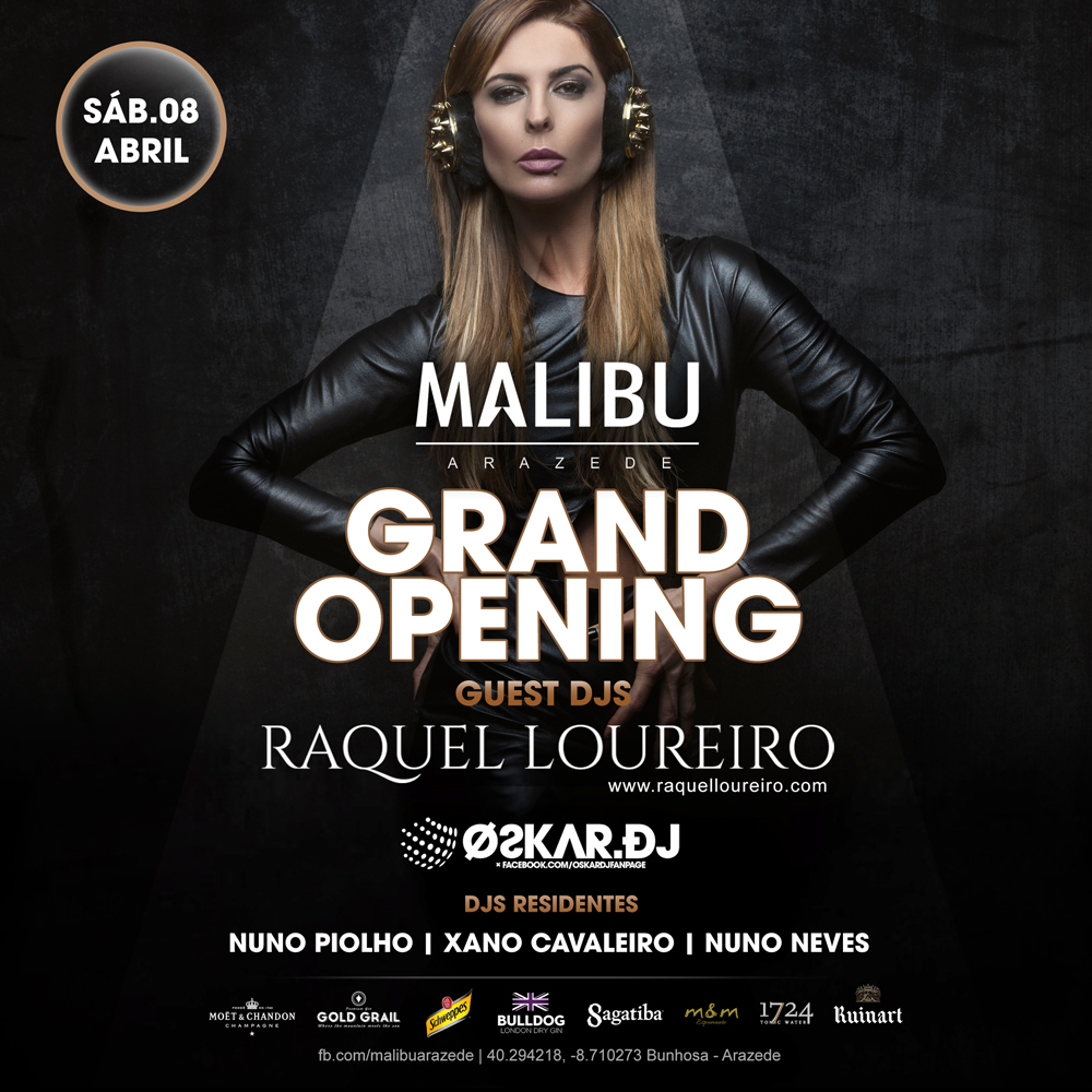 GRAND OPENING MALIBU DISCO THURSDAY, APRIL 27, 2017 | 12.00 PM