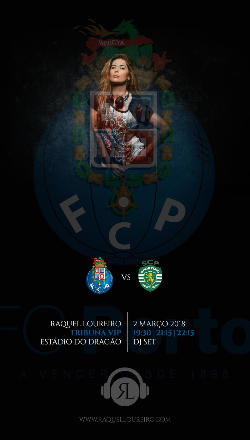 FC PORTO VIP TRIBUNE | FCP vs SCP GAME  FRIDAY MARCH 2, 2018| 19.30 PM - 21.15 PM - 22.15 PM