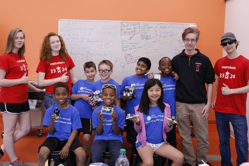 Summer Camps - -FIRST Lego League for Girls Camp-FIRST Lego League Rookie Camp-FIRST Robotics Competition Camp-FIRST Tech Challenge Camp