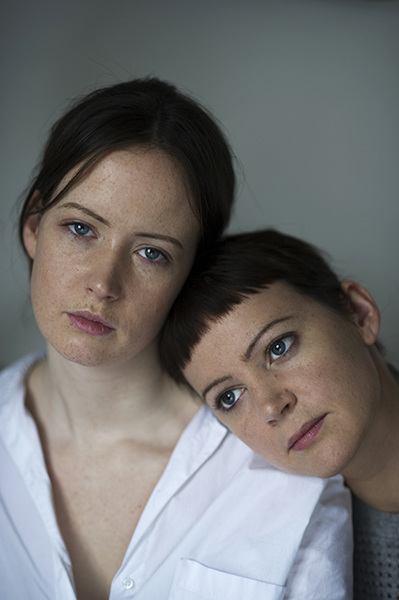Anna & Kate  from the series  Sisters  by  Sophie Harris-Taylor   http://www.sophieharristaylor.com/filter/Projects/Sisters