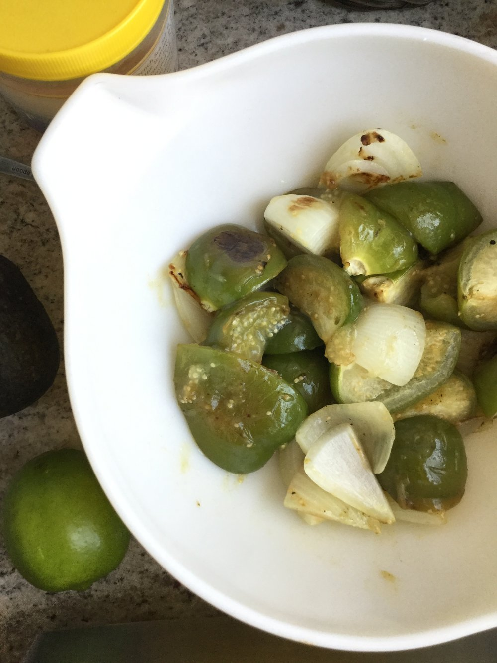 How To Make: - Roasted Tomatillo Salsa with Avocado