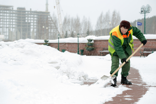 Snow removal   Residential:  Shoveling or plowing snow away from driveways and sidewalks  Commercial:  Shoveling or plowing snow away from parking lot, driveways and sidewalks