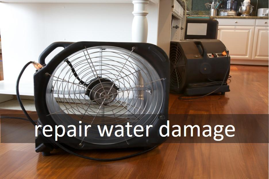 Repair water damage