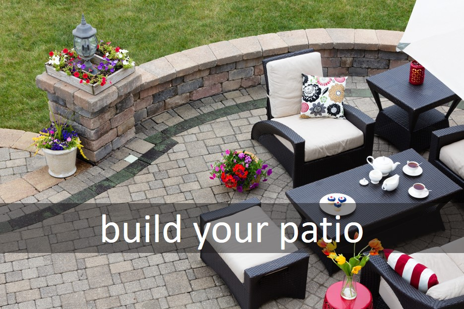 Build your patio