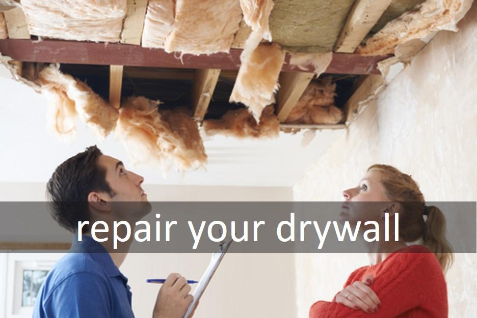Repair your drywall