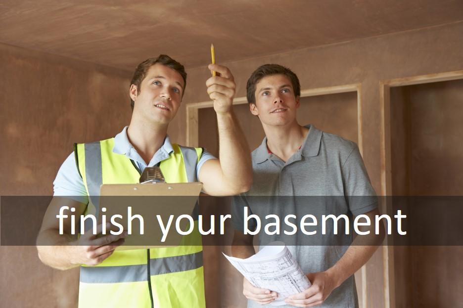 Finish your basement
