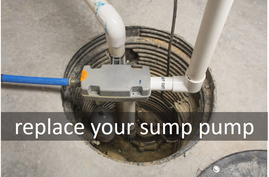 Replace your sump pump