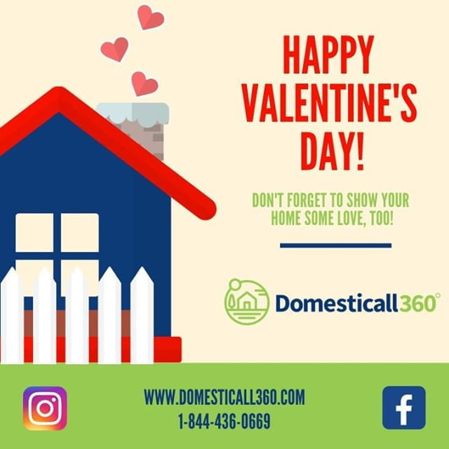 Happy Valentine's Day from you #DC360 team! Don't forget to show your home a little love, too! Give us a call for any home services you might need at 844-436-0669