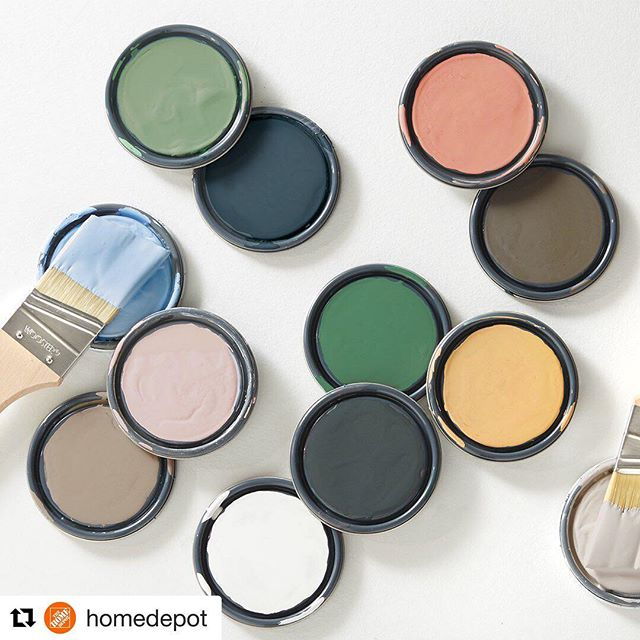Time for a new hue for spring? Give us a call when you're ready for a new coat of color! 844-436-0668📞  #newyearnewhue  #Repost from @homedepot ・・・ Welcome home spring with a touch of hues inspired by surf and sand. Which color is your favorite?