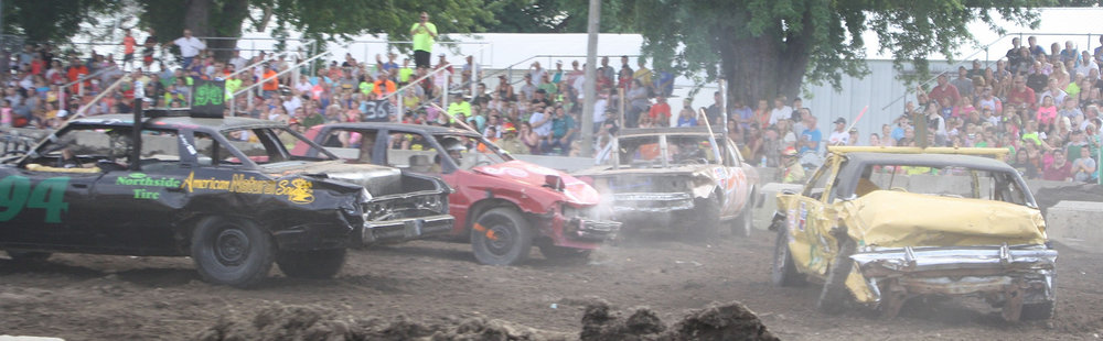 Demolition Derby - Saturday • 7:00 pm • Main Arena • Flyer