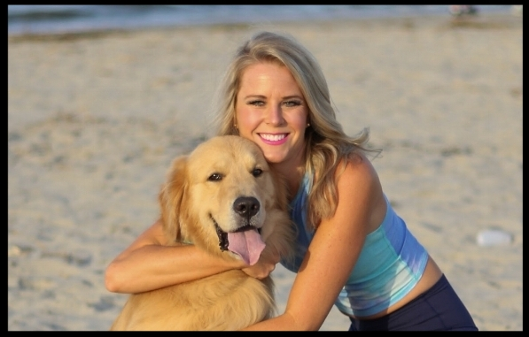 Courtney and Ranger in Charleston, South Carolina