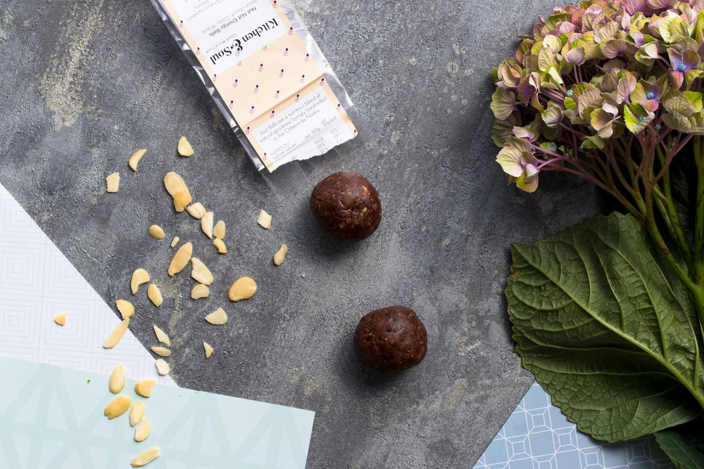 Ayurvedic Energy Balls - Each SoulBall has a unique blend of spices that can be matched to your Dosha type.The best spices for Vata include saffron, basil, fresh ginger, cumin, black pepper, fennel. For Pitta, choose cinnamon, mint, coriander, turmeric, fennel, fresh cilantro, cardamom. And for Kapha, clove, turmeric, black pepper, mustard seeds and chili.Cardamom is tridoshic so can be used for all three doshas.Our packaging is 100% recyclable.