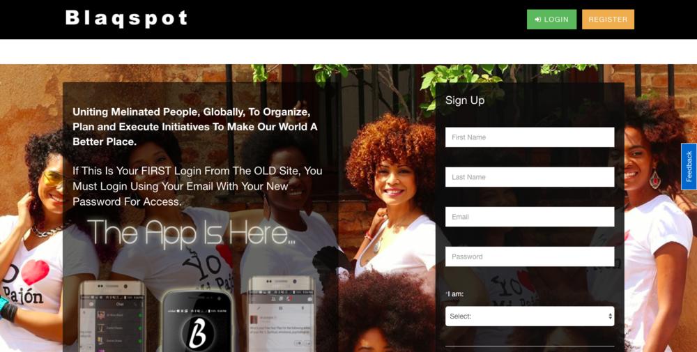 Blaqspot (Afro-Social Networking)