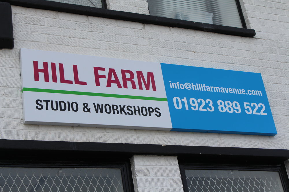 Hill Farm Sign on Unit 5.JPG