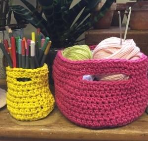 Wool Baskets