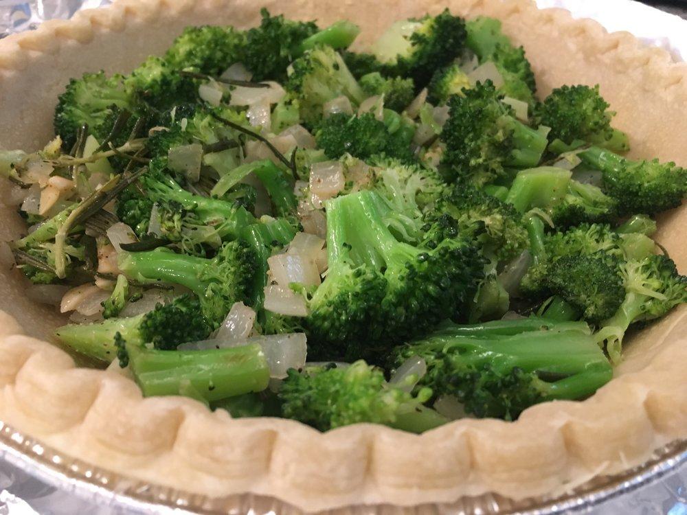 Broccoli in Pie Crust