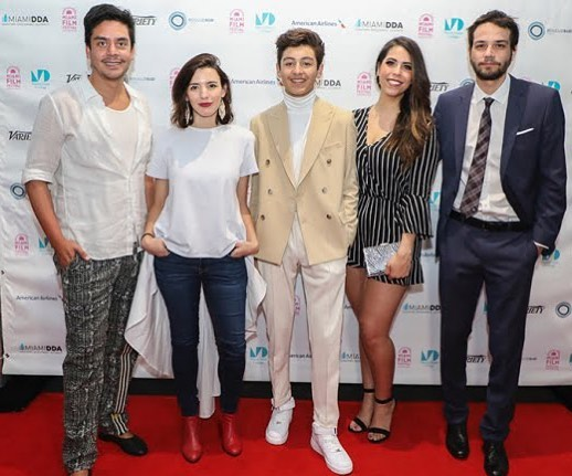 """Daniel Zovatto joined by others at Variety's 10 Latinxs to Watch Brunch Celebrating Diversity in the Community. """"It wasn't until he was cast in Vandal, the Miami-set street art drama that played the festival this year, that he finally got to play a Latino character."""" 👏🏼👏🏼👏🏼👏🏼👏🏼 #vandalmovie #danielzovatto #10towatch @variety @remezcla"""