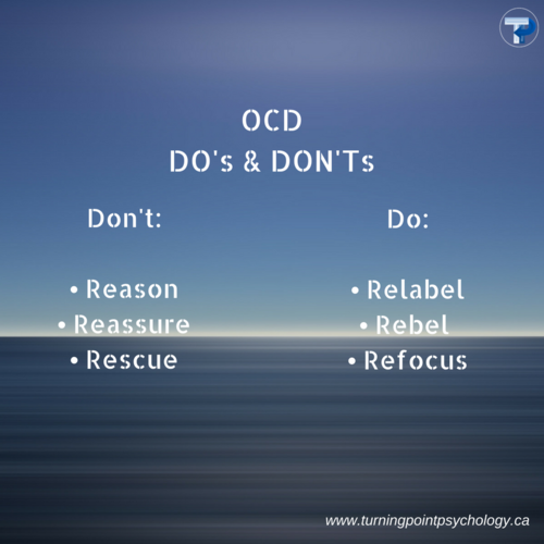 OCD Do's and Dont's
