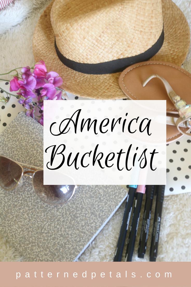 America bucketlist