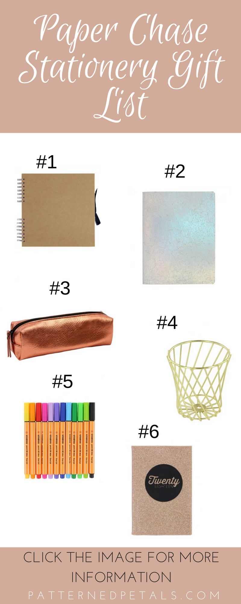 Paper Chase Gift List