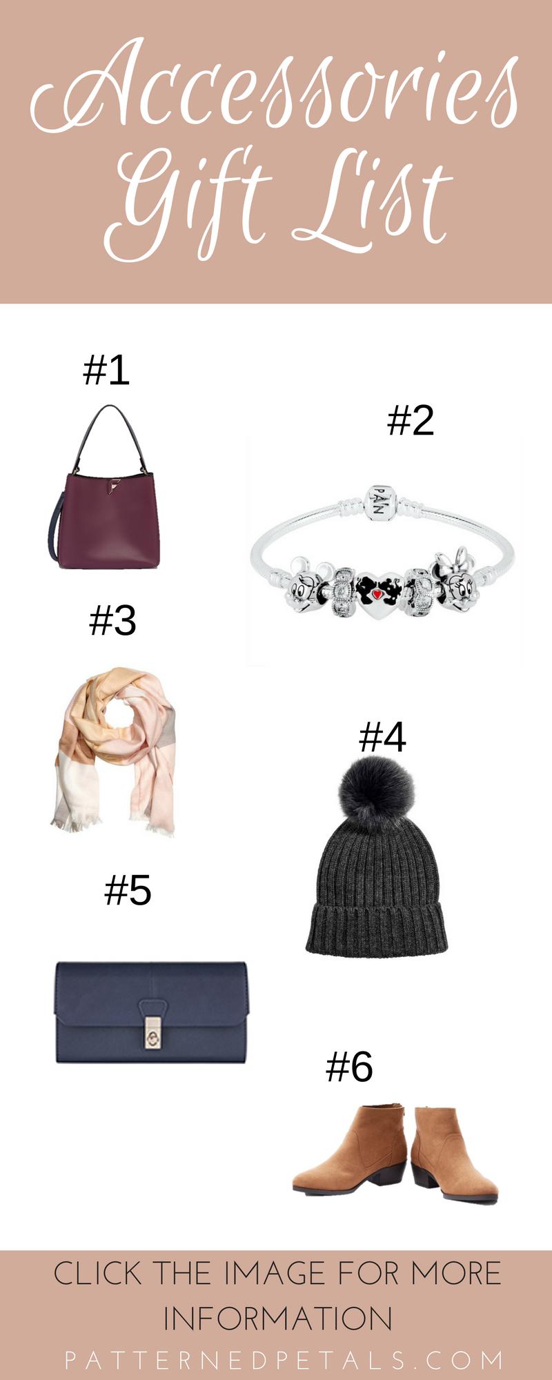 Accessories Gift List
