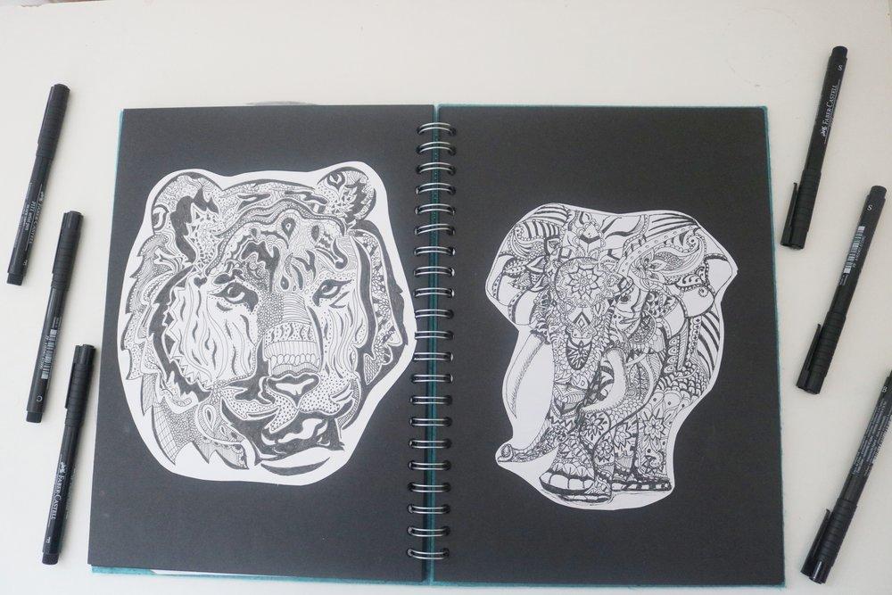 Art As A Way To De-stress