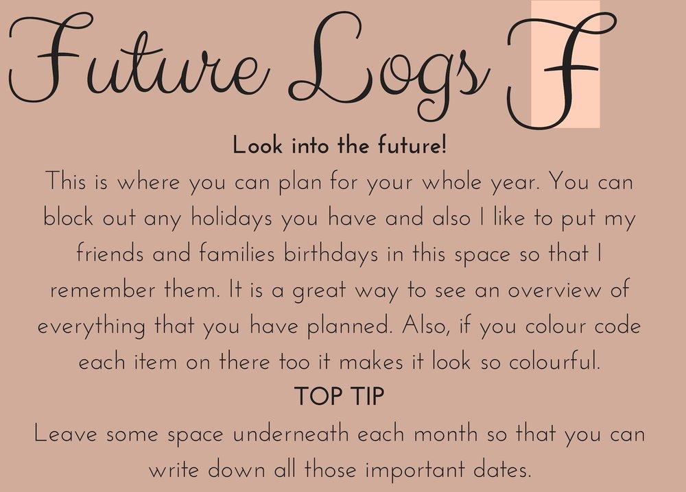 future logs